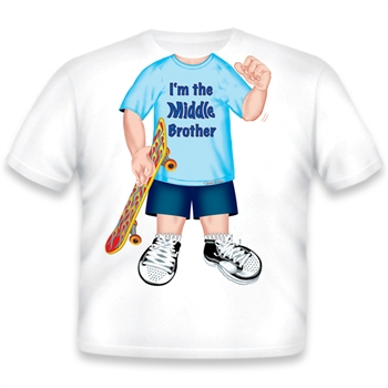 Brother Middle T Shirts