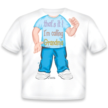 Call Grandma Boy T Shirts