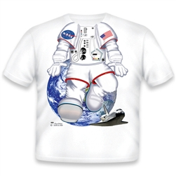Astronaut Shuttle T Shirt