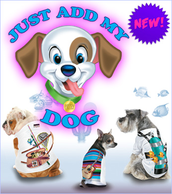 Just Add My Dog T-shirts by Just Add A Kid