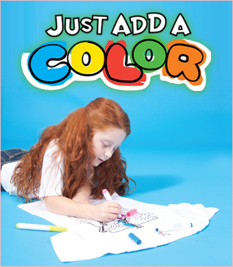Just Add A Color by Just Add A Kid